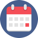 CALENDAR ICON COLOR